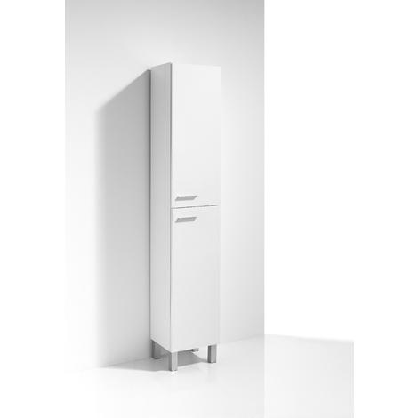 Columna de Baño 2 puertas 30 cm Blanco Kit Basic - Jumar
