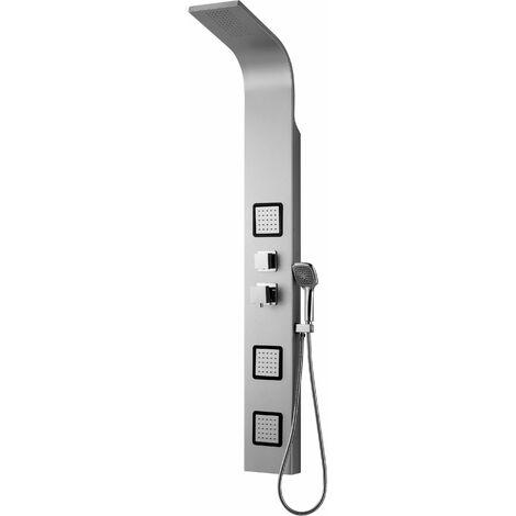 Columna de ducha con 3 rociadores laterales Piralla Otranto 0HR00200C16 | Cromo - mecánico