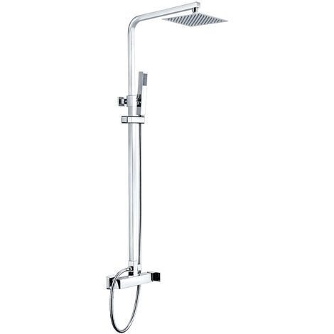 Columna de ducha de acero inoxidable monomando Serie Nantes - IMEX