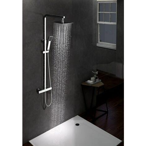 Columna de ducha de acero inoxidable termostática Serie Vigo - IMEX
