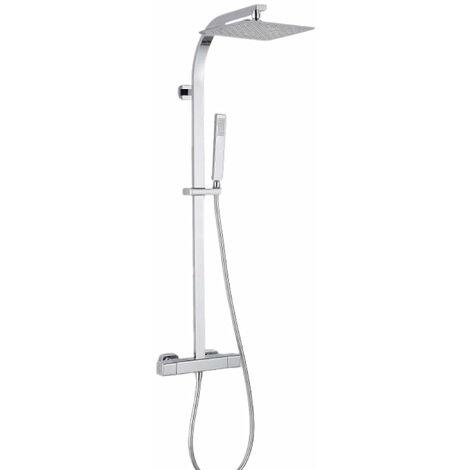 Columna de ducha ECOLÓGICA termostática PANI, con tecnología Air+® y KeepCool®