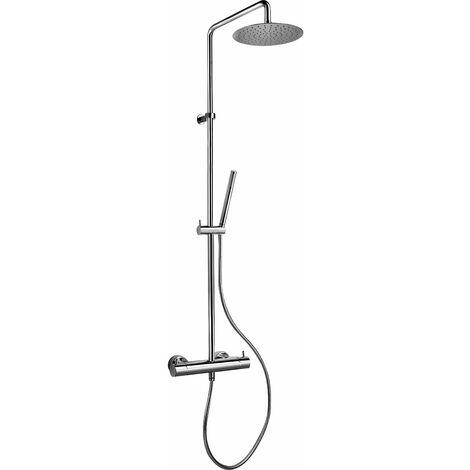 Columna de ducha equipada jacuzzi Rubinetteria sunset 0SU00199JA01 | Cromo