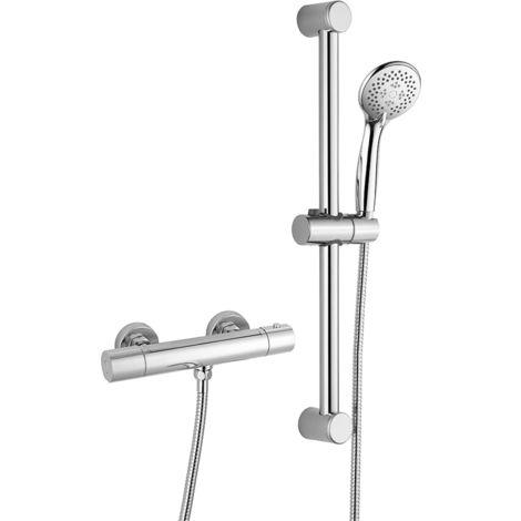 Columna de ducha termostática RONDA, con tecnología KeepCool®