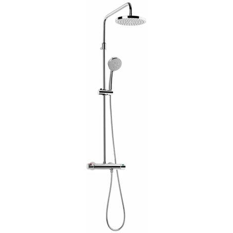 Columna de ducha termostática telescópica - Serie Victoria - Roca