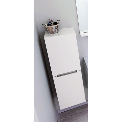 Columna de mueble ITALO blanca Dimensiones : 30X35x110 cm- Aqua+