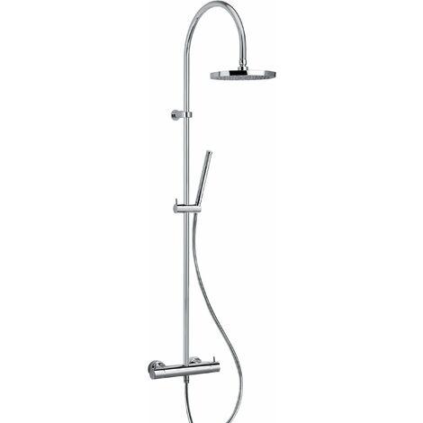 Columna para ducha mezclador termostático Jacuzzi Sunset 0SU00199JA00 | Cromo