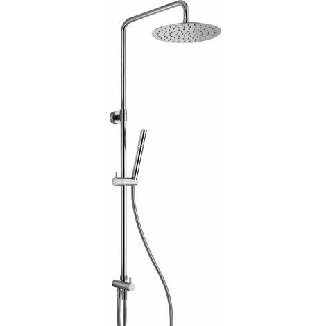 Columna para ducha sin mezclador Jacuzzi Sunset 0SU00846JA00 | Cromo