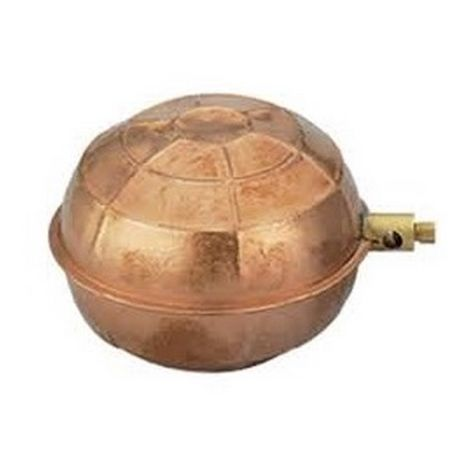 Comap 2228 Ball Float 652f in Copper D80