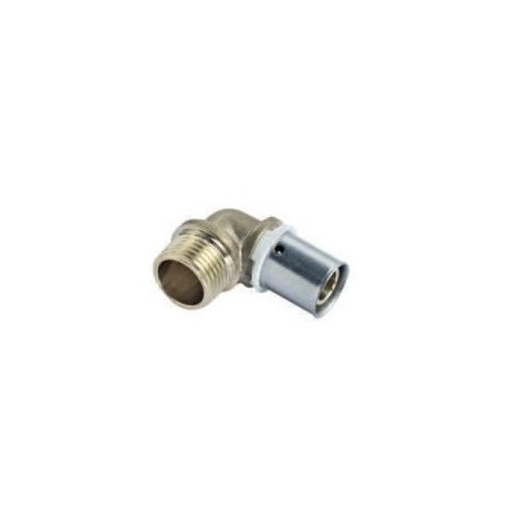 "COMAP 7092504 Coude (x2) 90° à sertir - P7092G - Ø20x1,9mm - 1/2"""
