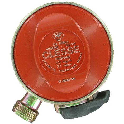 COMAP Détendeur propane clip on D.20 pour bouteilles Twiny, Malice, Elfi, Calypso, Shesha