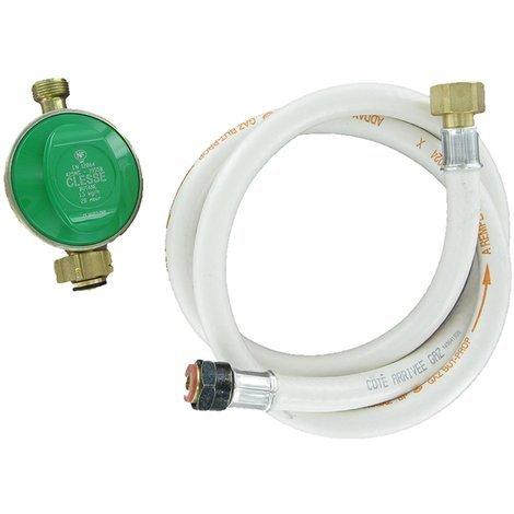 COMAP Kit Butaflex validité 10 ans pour bouteille 13 Kg : détendeur butane, 1,25m de flexible butane/ propane