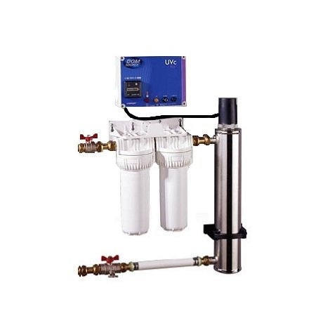 COMAP Kit de Filtration et Désinfection pour eau de pluie - S900120