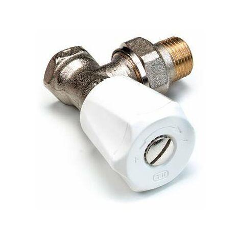 COMAP Robinet de radiateur équerre - visser - F 3/8' - Simple réglage - Comap