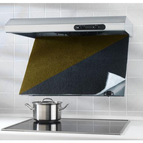 Combi-Filter mit Aktivkohle Abzugshaube Küche Herdabzug Herddunstfilter