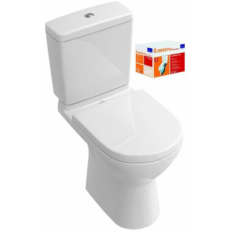 Combi Pack O.NOVO Direct Flush - Sortie horizontale - Couleur: BLANC