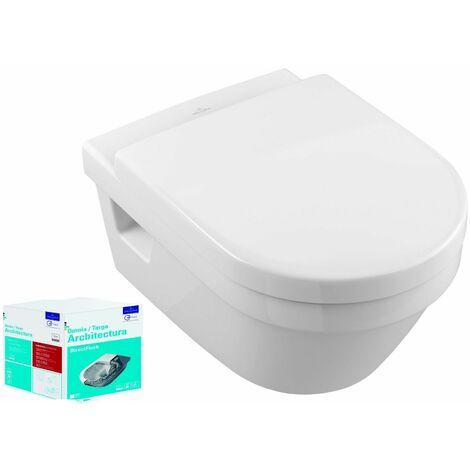 Combi Pack TARGA ARCHITECTURA Direct Flush - Couleur : BLANC