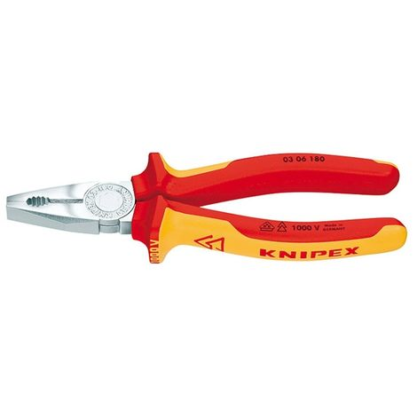 Combi pinzas VDE 160mm m. M. K. Griff Knipex