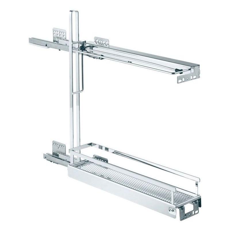 Combiné bas porte plateaux de 150 - Version : Style - KESSEBOHMER - Pour caisson de largeur : 150 mm
