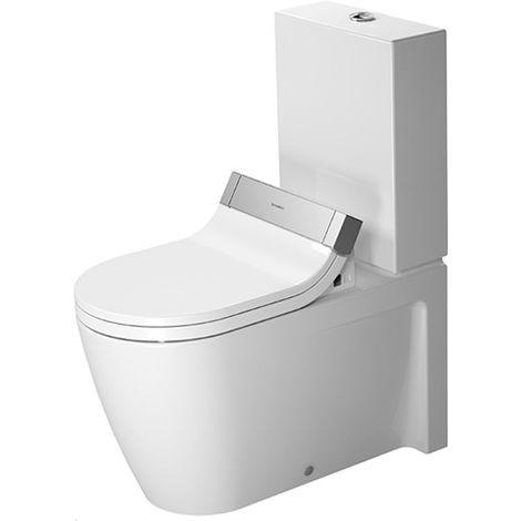 Combinación de WC Duravit Starck 2 independiente para SensoWash®, 212959, color: Blanco con Wondergliss - 21295900001