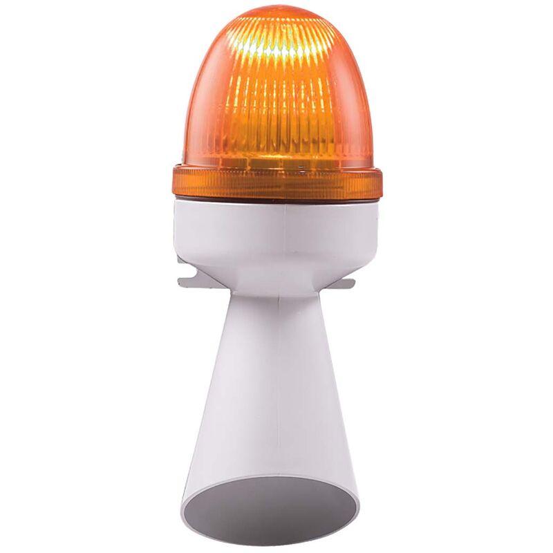 Combinaison balise - buzzer lentille Ambre à LED, 240 V - Rs Pro