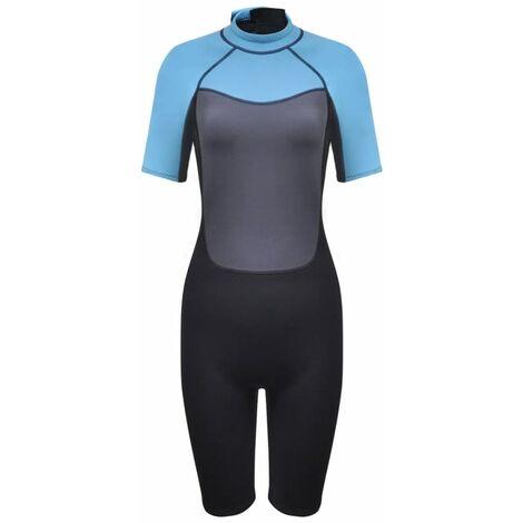 Combinaison de plongée en néoprène courte pour femme avec taille au choix