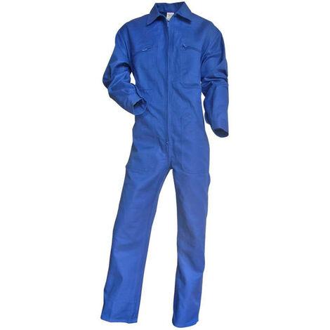 Combinaison de travail 100% coton bleu bugatti Taloche LMA Bleu 5XL - Bleu