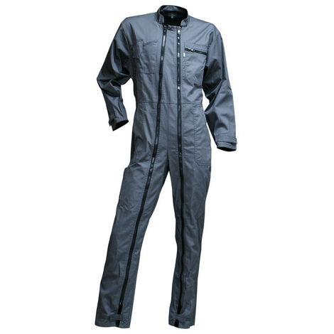 Combinaison de travail double zip Gris RONDELLE   400518 - LMA
