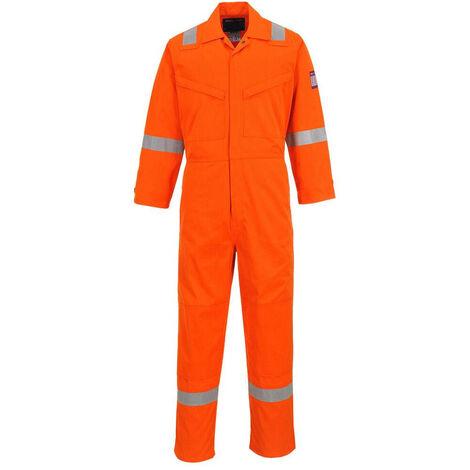 Combinaison de travail multirisques Portwest Modaflame Orange 3XL