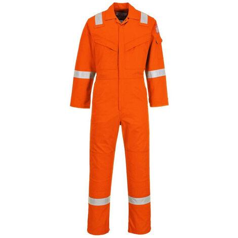 Combinaison Ignifugée super légère Portwest antistatique Orange M