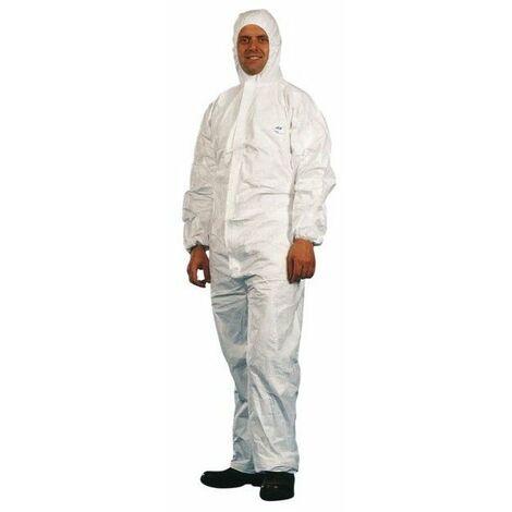 Combinaison jetable classic tyvek blanc taille 5 - xxl