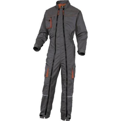 Combinaison Mach 2 coloris gris/orange taille L