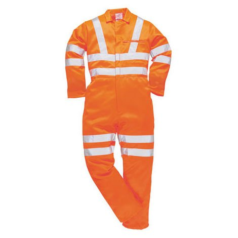 Combinaison Réutilisable RS PRO, Orange, Coton, polyester, S