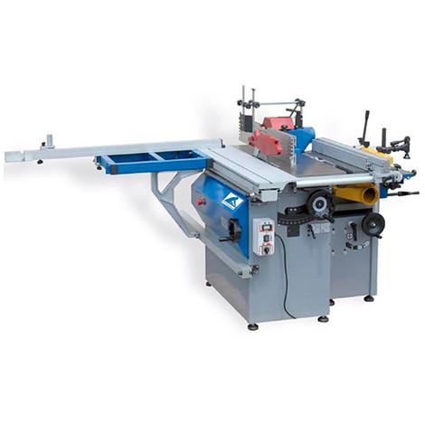 Combiné à bois L. 305 mm 230 V 3 moteurs - COMB305-MONO - Jean L'ébéniste - -