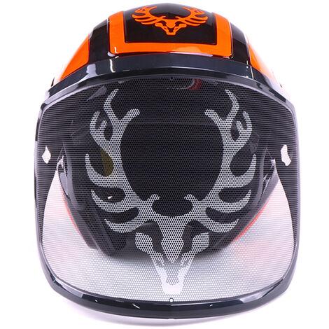 Combiné casque Protos Integral Forest, KOX Edition noir/orange