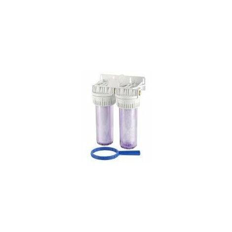 Combiné complet de filtration par polyphosphates - 3m3/h - 6 bars