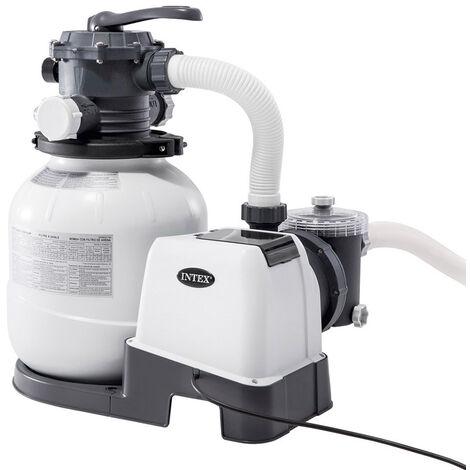 Pompe Filtre Sable Intex 26676 ex 28676 avec Chlorateur 6000 Lt/Hr