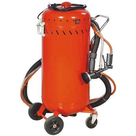 Combine Sableuse Aspirateur mobile 106L interieur / exterieur