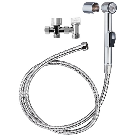 Combiné SHATTAF WC - Wirquin Pro 60720898