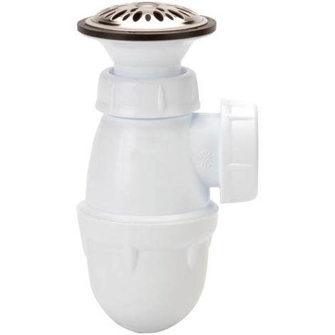 Combiné urinoir bonde et siphon