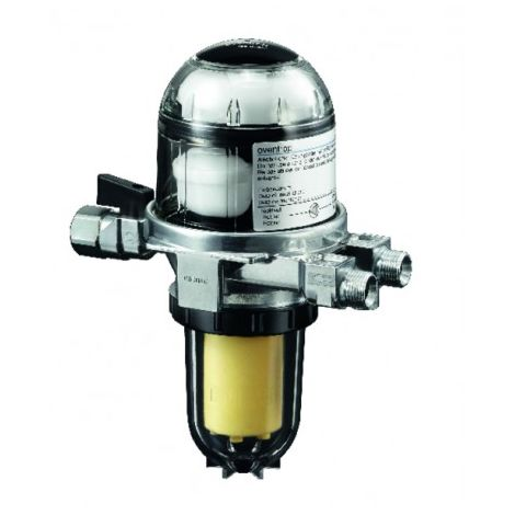 Combined fuel oil filter and air separator - OVENTROP : 2142732+2127600
