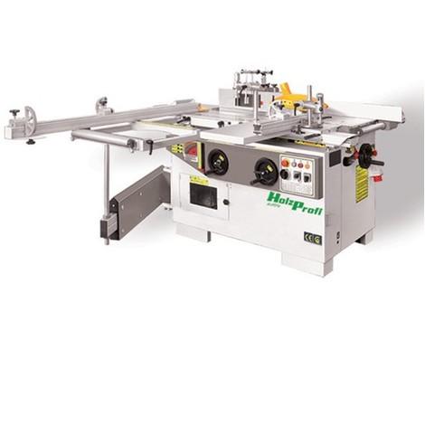 Combinée 5 opérations avec inciseur - 3 x 3000 W 400 V - COMB320E-TRI - Holzprofi - -