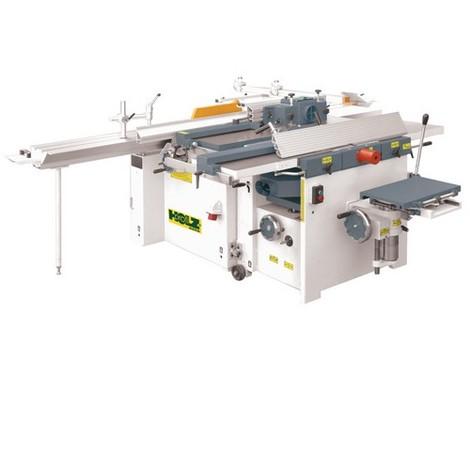 Combinée 6 opérations avec inciseur - 3 x 4000 W 400 V - COMB410PRO - Holzprofi - -
