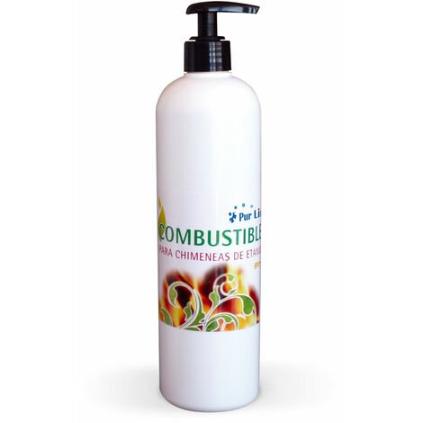 Combustible de origen natural en GEL Caja de 12 botellas de 500ml GEL-12B