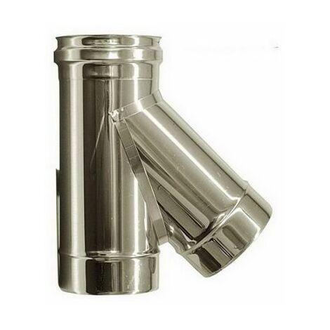 combustion dn 150 tee raccord 135 ° tube en acier inoxydable de combustion 316 INOX