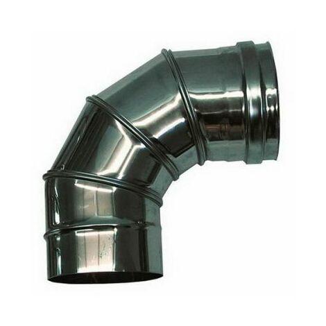 combustion dn 180 courbe réglable 0-90 ° tube en acier inoxydable de combustion 316 INOX