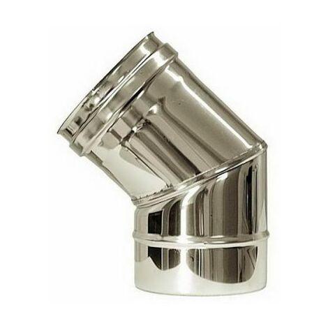 combustion dn 80 45 ° courbe tube en acier inoxydable de combustion 316 INOX