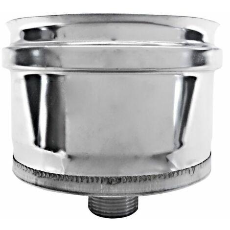 combustion dn 80 capuchon recueillir conduit de fumée de condensation 316 en acier inoxydable INOX