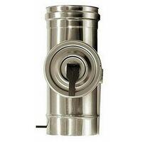 combustion élément dn 80 inspection tube en acier inoxydable de combustion 316 INOX