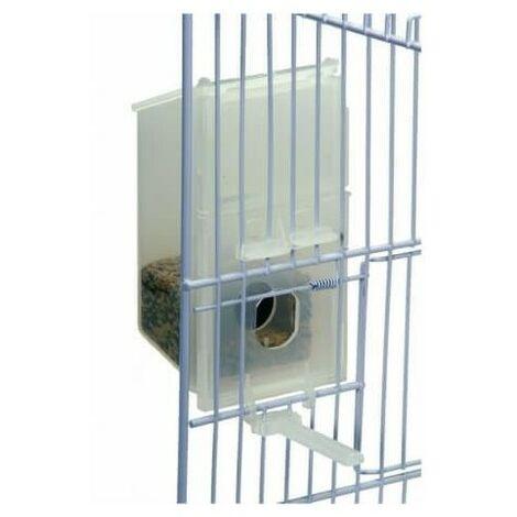 Comedero ECONOMY 2GR MOD 115 adaptable a todo tipo de jaulas apto para pequeñas aves