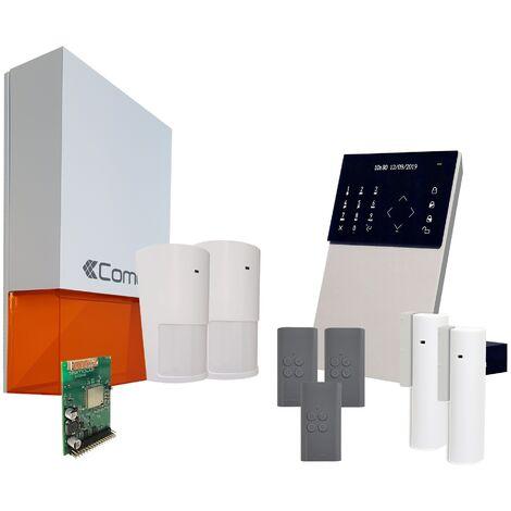 Comelit - Pack alarme connectée Secur Hub - KSW3223LF Kit 1 - Blanc